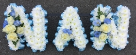 Sky Blue & White Nan Tribute